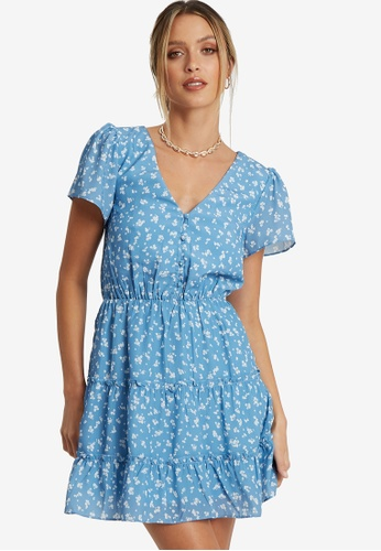 Sável blue Clifton Dress 03DBFAAF2F31FBGS_1