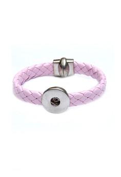 Woven 1-Snap Bracelet