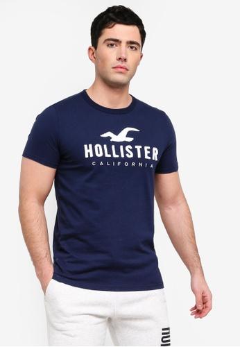 96732f0278aa Buy Hollister Short Sleeve Iconic T-Shirt Online on ZALORA Singapore
