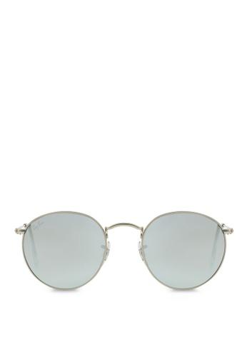 6fa334d1ca7a Ray-Ban Round Metal RB3447 Sunglasses RA370GL07SBOSG_1