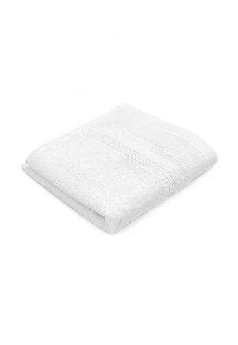 Primeo white Premium Double Pile White Face Towel 540gsm Soft High Absorbent 3EBA0HL6E3F65DGS_1