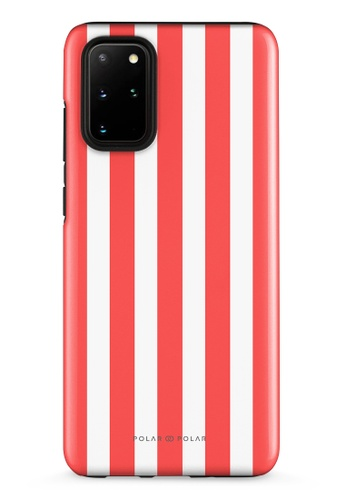Polar Polar red Scarlet Stripe Samsung Galaxy S20 Plus 5G Dual-Layer Protective Phone Case (Glossy) 91B6BACAE5E7C5GS_1