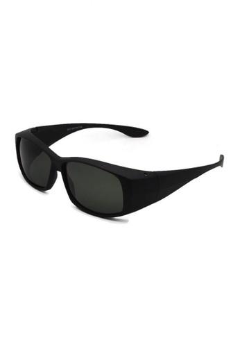 jojo black Classic Fitover Polarized Sunglasses 4F3B1GL9548C3BGS_1