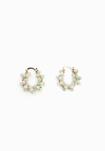 COLE COOL green Elegant Jade 14KGF Earrings 90D46AC301DAECGS_1