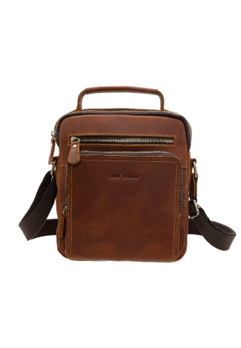 Jack Studio Jack Studio Genuine Leather Sling Bag Crossbody Bag C2271AC29494E4GS_1