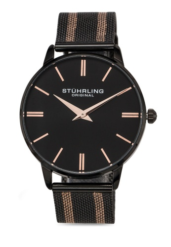 Stuhrling Original black Preston 4001 Watch 60419ACB9838BAGS_1