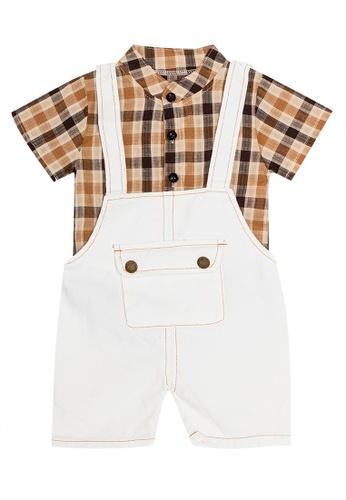 RAISING LITTLE white Gaston Outfit Set 185FFKAC75C967GS_1