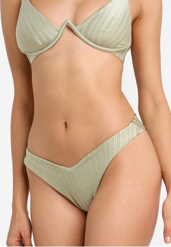 River Island green High Leg Bikini Bottom 3776FUSA7FF9BFGS_1