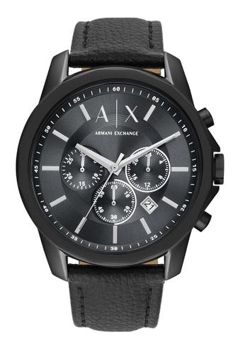 Armani Exchange black Watch AX1724 CC416AC3502F3EGS_1