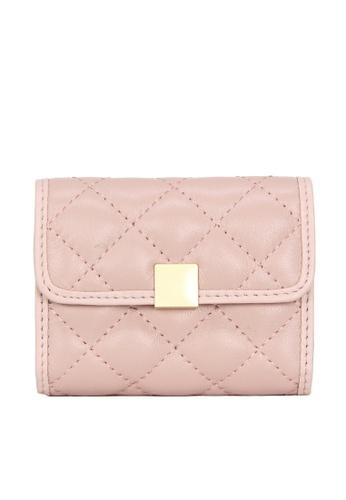 HAPPY FRIDAYS Multifunctional Rhombic Texture Leather Wallet JN8066 43057ACDEDDDCFGS_1