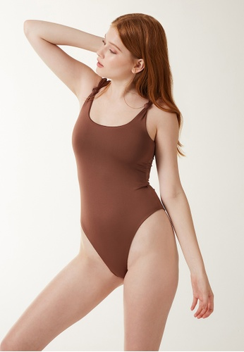 Annibody brown IVA Body - Mocha F4347AA0A636B9GS_1