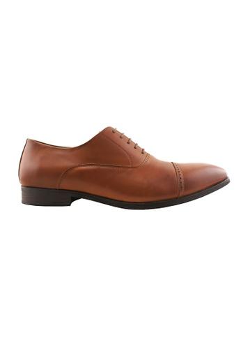 Hanson Bootmaker brown Hanson Bootmaker Oxford Lace Up HA656SH76ODRSG_1