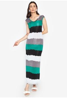 ba87b85a21 Purple Shore multi Stripe Dress B8B6FAAB4BDE73GS_1