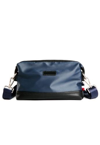 Lara blue Men's Nylon Small Crossbody Bag 0B7E0AC9749A9FGS_1