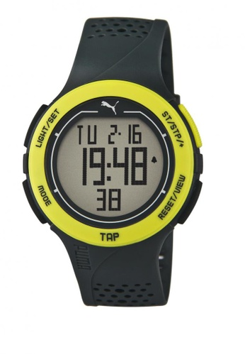 Puma black and yellow Puma Touch Yellow/Black  Digital Touch-Screen Watch PU440AC21CUGSG_1