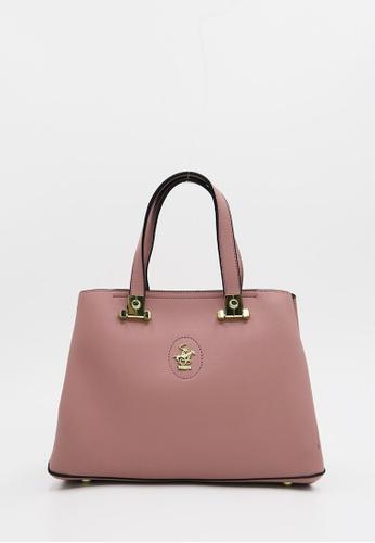 Beverly Hills Polo Club pink Premium S Tote Handbag 9DA4EACA8F417BGS 1 7236590a674e6