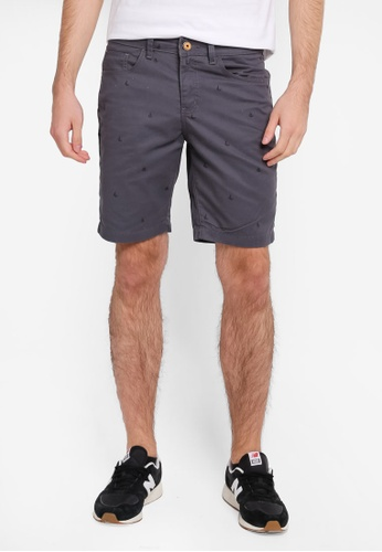 REGATTA grey Casual Printed Shorts RE699AA0SN28MY_1