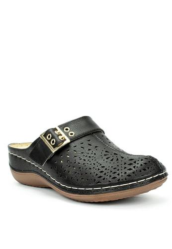 Mario D' boro Runway black LS 93348-Black Sandals F9AE2SH2B5C95AGS_1