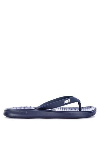 Nike blue Men's Nike Solay Thongs 5D4DBSH37E04B4GS_1