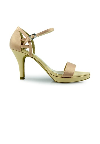 SHINE pink SHINE Ankle Strap Point Heel Sandals CC978SH2EF90B8GS_1