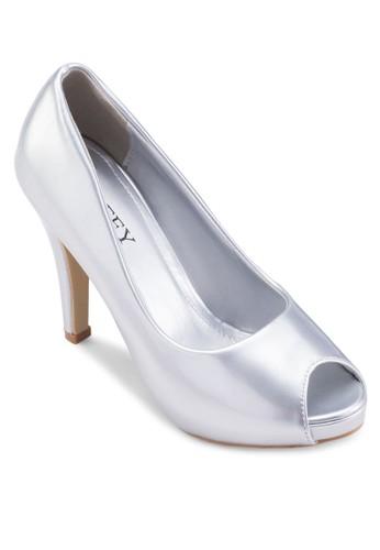 露趾漆皮高跟鞋, 女esprit 評價鞋, 鞋