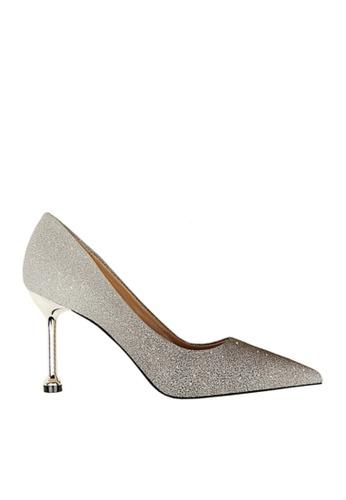Twenty Eight Shoes 銀色 閃粉漸變色晚裝及新娘鞋 VP07551 C9D23SHAFA80D0GS_1