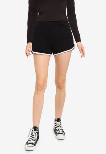 Hollister black Logo Knit Shorts 258F1AAC427B3BGS_1