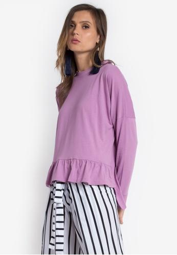 Verve Street purple Janice Top VE915AA0K9J0PH_1