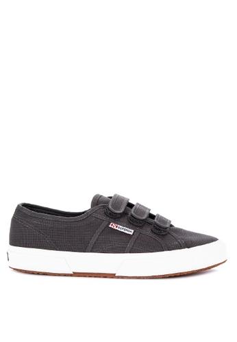 Superga grey 2750-Cot3Strapu Sneakers 571E9SH30981AAGS_1