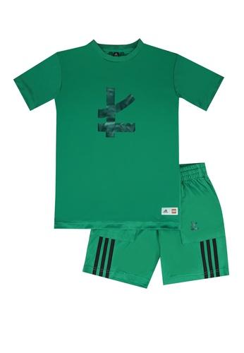 ADIDAS green unisex lego ninjago lloyd set D5228KA6E71917GS_1