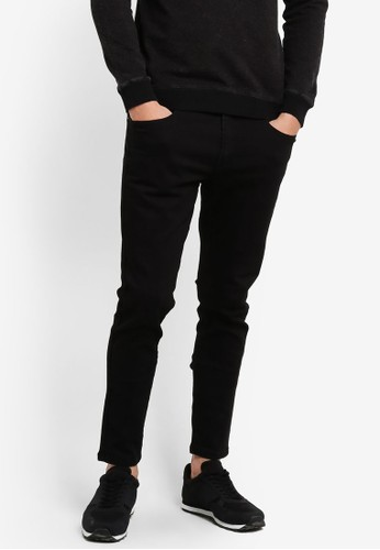 JAXON black Washed Skinny Jeans 526FCZZC2BEFD6GS_1