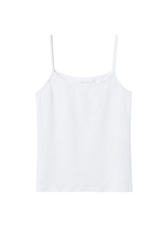 MANGO KIDS white Teens Essential Strap Top CB8F6KA77CEC34GS_1