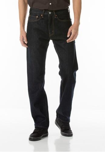 Levi's blue 505™ Regular Fit Jeans LE843AA81JGSSG_1