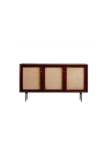 Born In Colour Camille Rattan Wicker Walnut Sideboard Cabinet 02260HL6BD33E2GS_1