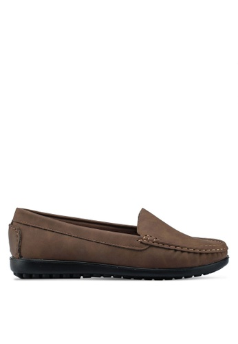 Louis Cuppers brown Casual Loafers 704C4SHF39D5D6GS_1
