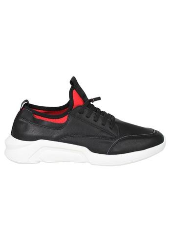Tomaz black Tomaz A-41 Men's Sneakers (Black) 386A1SH5421889GS_1