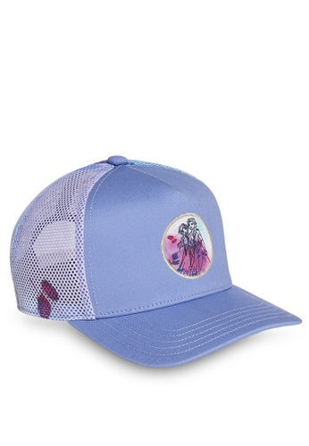 ADIDAS purple frozen graphic cap A10A6KC2D88AD8GS_1