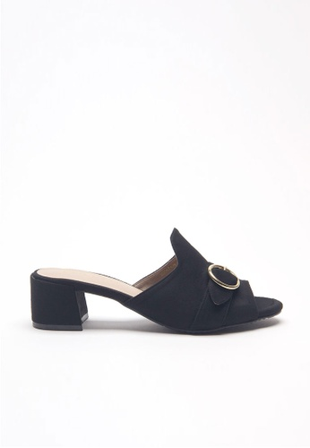 Emelyn black Sophie Slip On Heels B2236SH66ED436GS_1