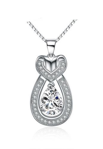 LYCKA silver LPP88104 S925 Silver Necklace E2D18AC77DB1ECGS_1
