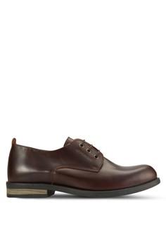 Derby 皮革商務鞋