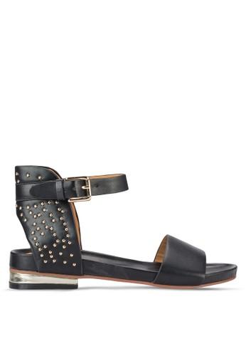 鉚釘繞踝涼鞋, 女鞋esprit 香港, 鞋