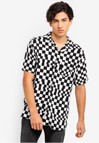 Cotton On black and white and multi Festival Shirt E39A1AA91EAE0AGS_1