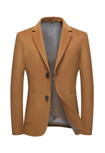 HAPPY FRIDAYS Slim Casual Wooled Jacket 2001 AFCF8AAABB516BGS_1