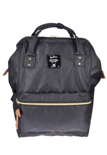 Anello black anello Polyester Backpack 7825EAC609B6CDGS_1