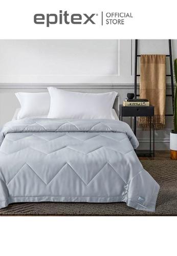 Epitex grey Epitex Eco Silk Quilt - Blanket MB3504 (Light Grey) 139FBHL1626BA4GS_1