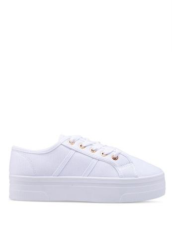 Rubi white Willow Platform Sneakers 9B796SH3E95856GS_1