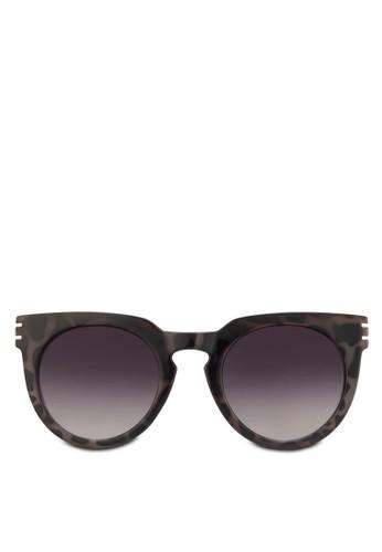 Iconic 經典圓框太陽眼鏡, 飾品配件zalora 台灣, 圓框