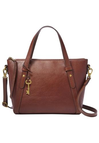 FOSSIL brown Avondale Satchel Bag SHB2801210 11C13AC0FFBBB0GS_1