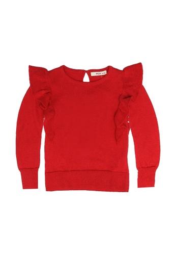 FOX Kids & Baby red Baby Girl Sweater 78EB0KA34C6228GS_1