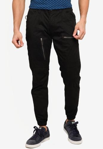 SPARROW GREEN black UMA X Cargo Pants 75C13AA605876CGS_1